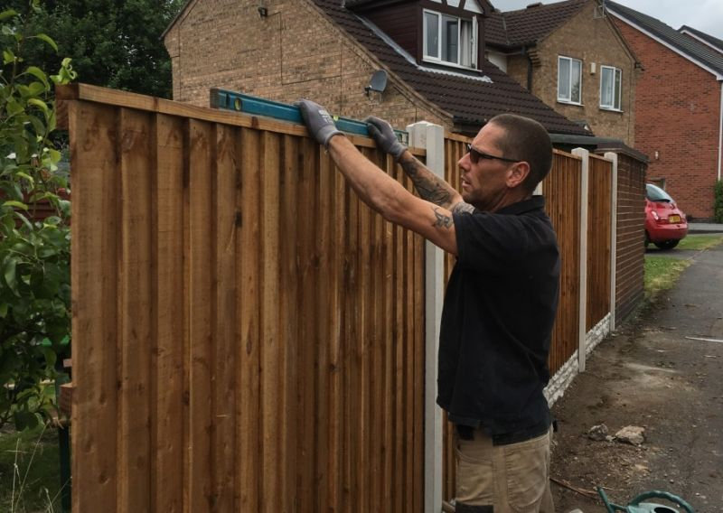 Fence Installation Nottingham : Swipe To View More Images