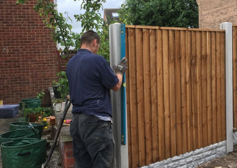 Fence installation Nottingham: Swipe To View More Images