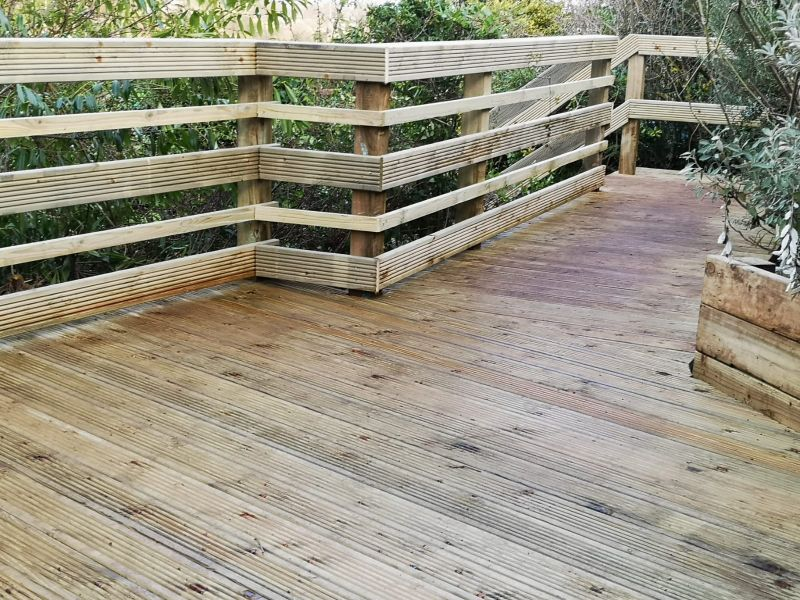 Decking platform: Swipe To View More Images