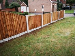Fence fitted