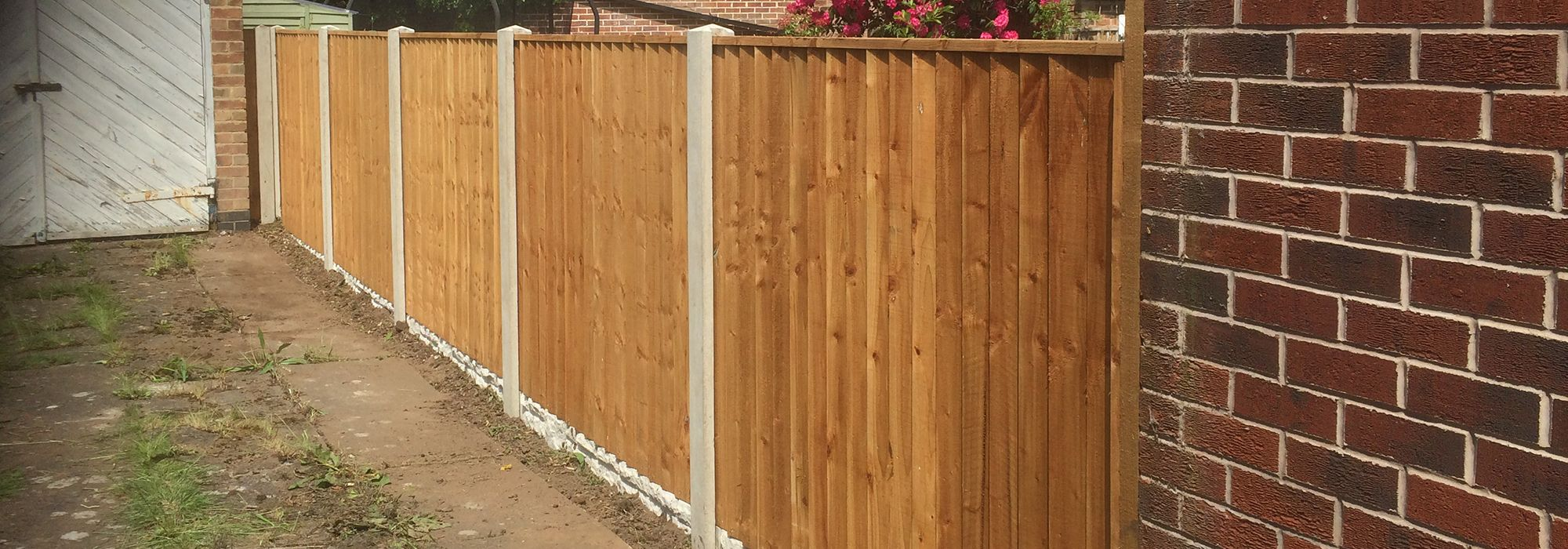 Garden Fencing Nottingham | Joe Taylor Gardening Services