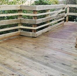 Decking platform: Click Here To View Larger Image